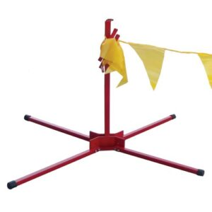 Pennant Flag Stands RED