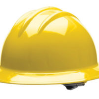 MSA Tan Skullgardᆴ Phenolic Cap Style Hard Hat With Fas Tracᆴ Ratchet  Suspension And Welder's Lugs